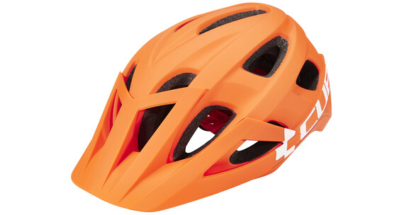 Cube Am Race Helm orange'n'white